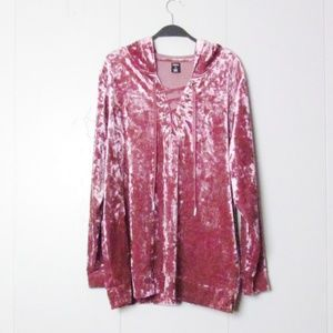 City Streets Pink Hoodie Sweater
